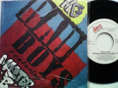 M.D.´S FEATURING MASTER B - BAD BOYS SIDE: BAD BOYS (BLINDFOLDED MIX)