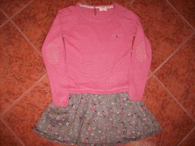99a6e4f6178d Krásné dívčí šaty zn.NEXT vel.7-8 let