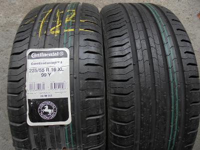 pneu 225 55r16 letní Continental Ecocontact-5 99Y 2kusy NOVÉ