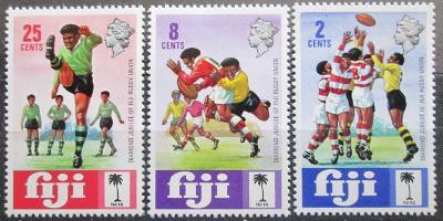 Fidži 1973 Rugby Mi# 303-05 0586
