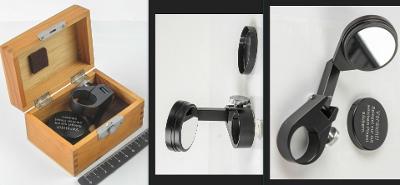Mikroskopické kreslící rovinné zrcátko Zeiss. Precizní stav.
