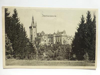 Průhonice, Praha -záp. - zámek 1935