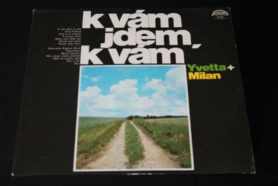 LP - Yvetta Simonová - Písně Mé Jdou K Vám   (d14)