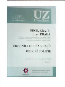 ÚZ - Obce, Kraje, hl. m. Praha, Obecní policie