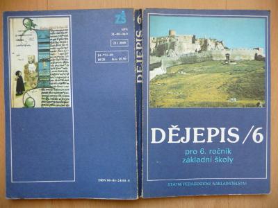 Dějepis 6. - pro 6. ročník základní školy - Marián Skladaný - SPN 1989