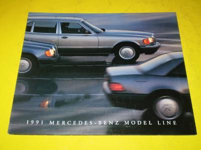 --- Mercedes 1991 ------------------------------------------------ USA