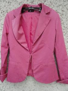 Moderní dámské růžové sáčko M + Dárek
