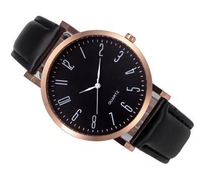 85c5eb430a7 Luxusní dámské hodinky Geneva Platinum čisla - černe
