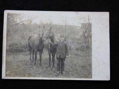 R-U voják+kůň, 1914
