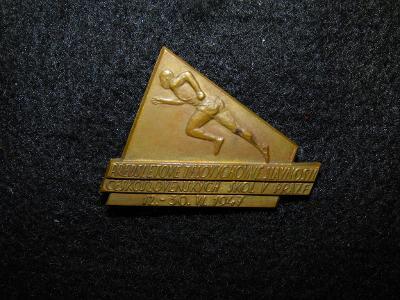 Předsletové tělovýchovné slavnosti 1947, velký odznak