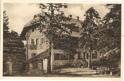 TŘÍSTOLIČNÍK - Dreisessel - Schutzhaus - Šumava - Prachatice