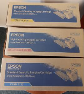 Originální tonery EPSON (1125,1128,1130) pro AcuLaser C3800