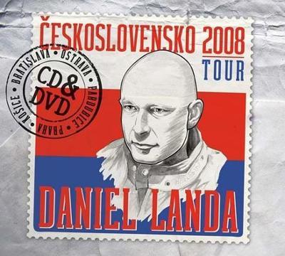 DANIEL LANDA - Československo Tour CD+DVD - RARE ve folii .... NOVÉ !!