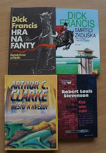 Knihy - Klub sebevrahů, Hra na fanty, Smrtící zkouška, Město a hvězdy