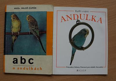 Knihy - Bydlí s námi andulka, ABC o andulkách