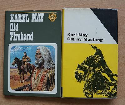 Knihy - Karl May - Čierny Mustang a Old Firehand