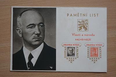 Pamětní list II.
