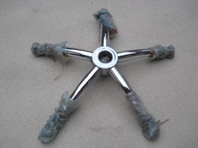 Kancelářské křeslo,kovový kříž,  nosnost 130 kg