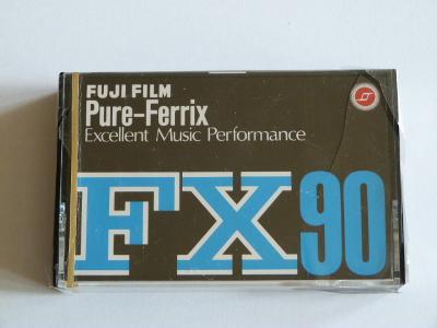 kazeta Fuji FX C-90, typ I, 1974-75, JAPAN