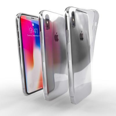 Průhledný zadní kryt / obal - Apple iPhone Xs