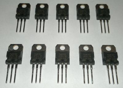 Tranzistor MOSFET STP6NK50Z - sada 5ks
