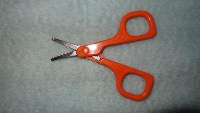 Manikurní nůžky zn.CHICCO  s bezpečnostními špičkami