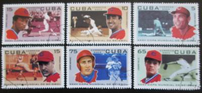 Kuba 2003 Baseball Mi# 4559-64 0604