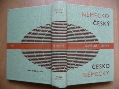 Německo-český a česko-německý kapesní slovník - Josef Beneš - SPN 1991
