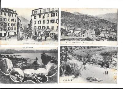 Korsika, Francie, 21 kusů pohledů