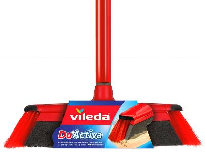 Vileda DuActiva Classic  smeták s houbou 2 v 1 houbička