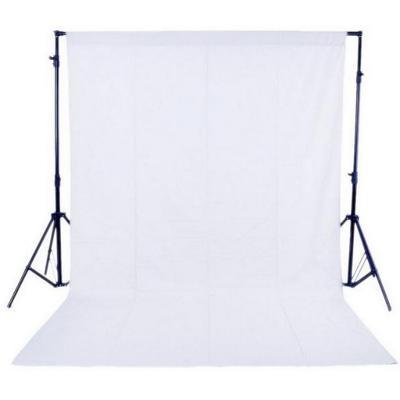 Fotografické pozadí PP, netkaná textílie 1,6 m x 3 m, bílá