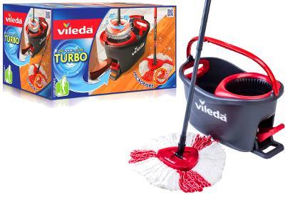 Rotační MOP VILEDA Easy Wring and Clean TURBO sada kbelík tyč