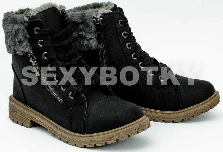 Zimní černé farmářky vel. 35 b0b1fa288a
