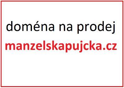 Prodej domény ManzelskaPujcka.cz