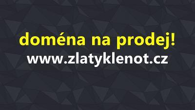 Prodej domény ZlatyKlenot.cz