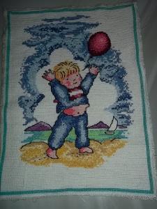 Obrázek chlapeček s balónkem******pěknéééé