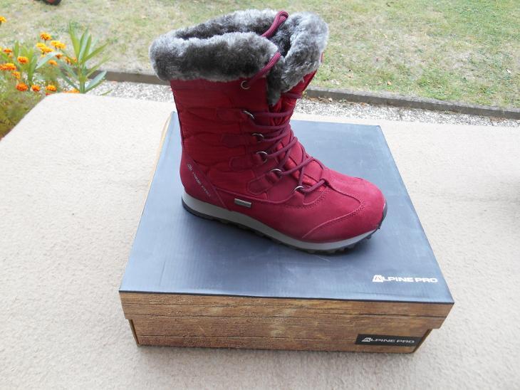 0d5f916c7 Nové zimní kožené boty zn.: ALPINE - vel. 36 (6941736676)
