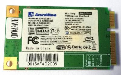 Wifi modul AR5BXB63 z Asus F5RL