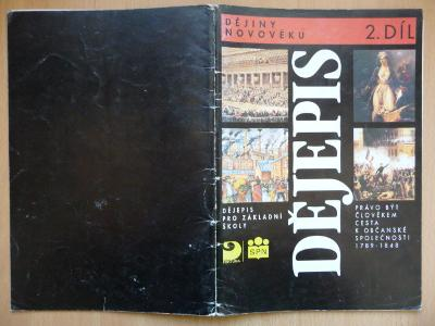 Dějepis 2. díl - Dějiny novověku pro základní školy - FORTUNA 1995