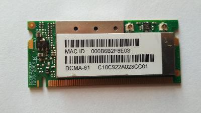 miniPCI wifi karta DCMA-81(CM10)WNC