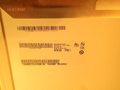 """15.6"""" B156XTN02.1 LCD 1366x768 WXGA HD LED 40pin pavouk na opravu,ND"""