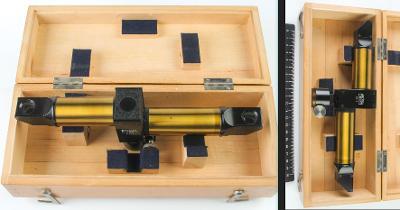 Carl Zeiss Jena - historický stereonástavec na okulár mikroskopu.