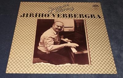 LP Jazzové klávesy Jiřího Verbergra