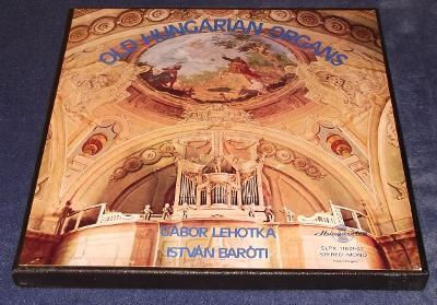 LP Gábor Lehotka, István Baróti - Old Hungarian Organs /2LP/