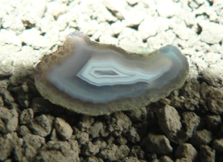 achát český(441) - Minerály a zkameněliny