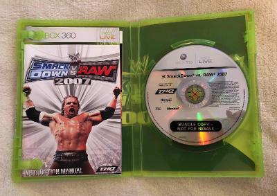 XBOX 360 Hra Smack Down vs Raw - akční, bojová