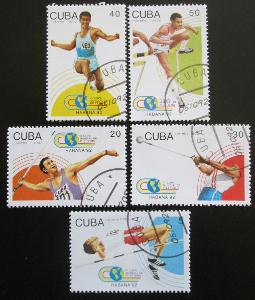 Kuba 1992 SP v lehké atletice Mi# 3608-12 0154