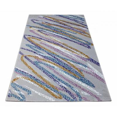 Luxusní kusový koberec akryl Maxa šedý 120x170