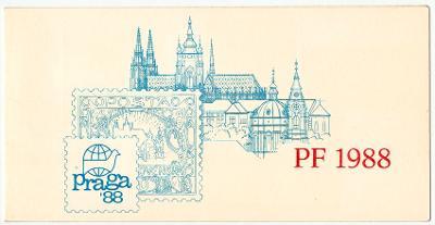 PF 1988 - NOVOROČENKA - PRAGA 1988 (T5904)