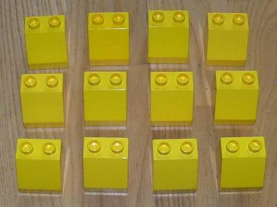 Lego Duplo 12 skosených kostek